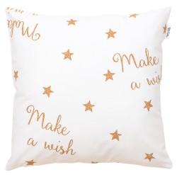 Make a wish coussin et 100% coton taie décoratif bébé et enfant