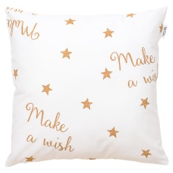 Make a wish cuscino е 100% cotonе federa decorativa bambino