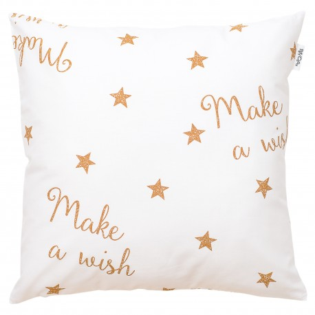 Make a wish cushion and 100% cotton cover decorative baby and kid
