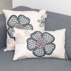 Монна декоративна възглавница и калъфка 100% памук