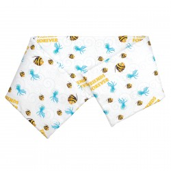 Fish and Jellyfish friends - Cot / Crib Bumper Pad Half Pati'Chou