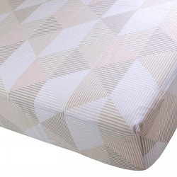 Arlette - Fitted Sheet / 100% Cotton Bedding