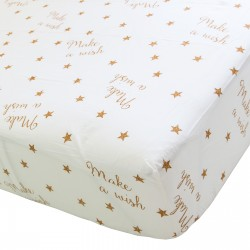 Make a wish - Drap Housse / 100% Coton Linge de Lit