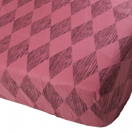 Amethyst - Fitted Sheet / 100% Cotton Bedding