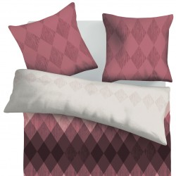 Amethyst - 100% Cotton Bed Linen Set (Duvet Cover & Pillow Cases)