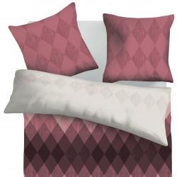 Аметист - 100% памук спален комплект (плик и калъфки)