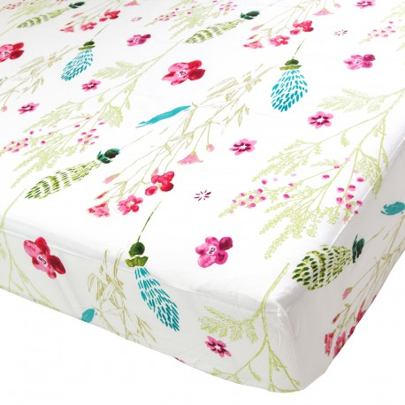 Sabrina - Fitted Sheet / 100% Cotton Bedding