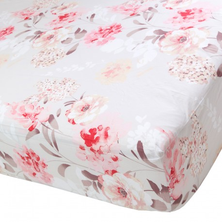 Tanea - Fitted Sheet / 100% Cotton Bedding
