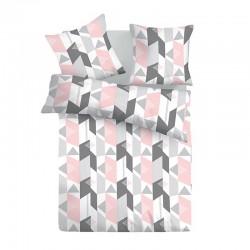 Алекса - 100% памук спален комплект (плик и калъфки)
