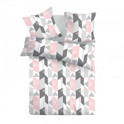 Alexa - 100% Cotton Bed Linen Set (Duvet Cover & Pillow Cases)