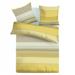 Lyon - 100% Cotton Bed Linen Set (Duvet Cover & Pillow Cases)