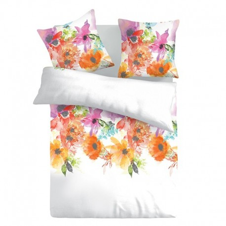 Summer - 100% Cotton Bed Linen Set (Duvet Cover & Pillow Cases)