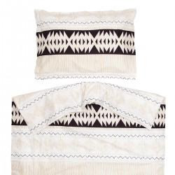 Ethno - 100% Coton parure de lit pour bébé (Housse de couette et Taie d'oreiller)