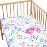 April / Pack of 2 Fitted Sheet - 100% Cotton Cot / Crib Bedding