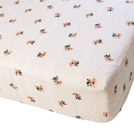 Laura - Fitted Sheet / 100% Cotton Bedding
