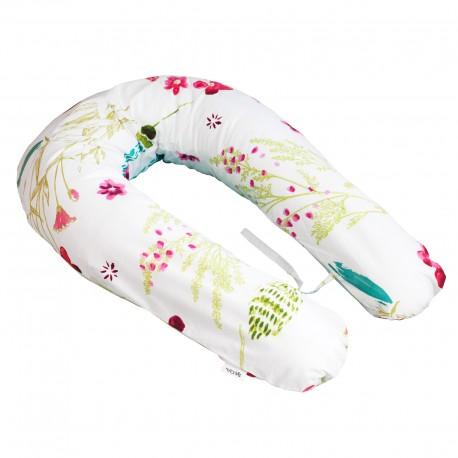 Pati'Chou nursing and maternity pillow 180 cm and 100% cotton pillowcase Sabrina