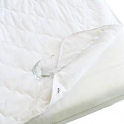 Pati'Chou Protezione materasso Cotone Impermeabile / Coprimaterasso Lettino Bambino
