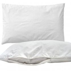 Pati'Chou Protezione materasso Cotone Impermeabile e Silenzioso, protegge coprimaterasso per culla o lettino bambino