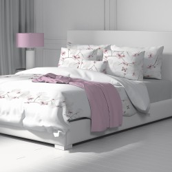 Butterfly - 100% Cotton Bed Linen Set (Duvet Cover & Pillow Cases)