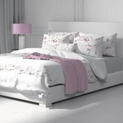 Пеперуди - 100% памук спален комплект (плик и калъфки)