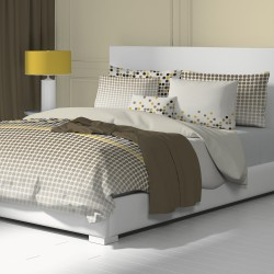 Vento - 100% Cotton Bed Linen Set (Duvet Cover & Pillow Cases)