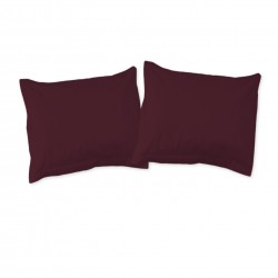 Aubergine (Teffer) - Pillow cases / 100% Cotton Bedding