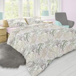 Rosemary - 100% Cotone Biancheria da letto (Copripiumino e Federe)
