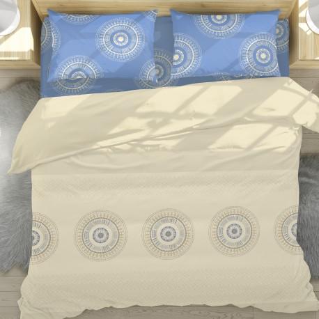 Casa - 100% Cotton Bed Linen Set (Duvet Cover & Pillow Cases)