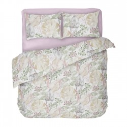 Rosemary - 100% Cotton Bed Linen Set (Duvet Cover & Pillow Cases)