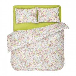 Claire - 100% Cotton Bed Linen Set (Duvet Cover & Pillow Cases)