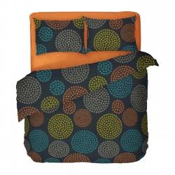 Viva - 100% Cotton Bed Linen Set (Duvet Cover & Pillow Cases)