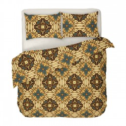 Gotique - 100% Cotton Bed Linen Set (Duvet Cover & Pillow Cases)