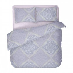 Viola - 100% Cotton Bed Linen Set (Duvet Cover & Pillow Cases)