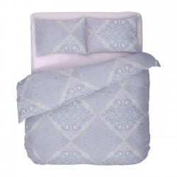 Виола - 100% памук спален комплект (плик и калъфки)
