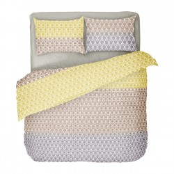 Kim - 100% Cotton Bed Linen Set (Duvet Cover & Pillow Cases)