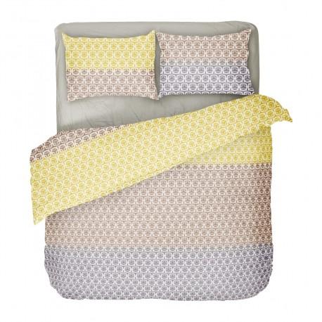 Kim - 100% Cotton Bed Linen Set (Duvet Cover & Pillow Cases)