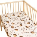 Hedgehog / Pack of 2 Fitted Sheet - 100% Cotton Cot / Crib Bedding