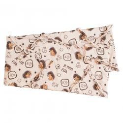 Hedgehog - Cot / Crib Bumper Pad Half Pati'Chou