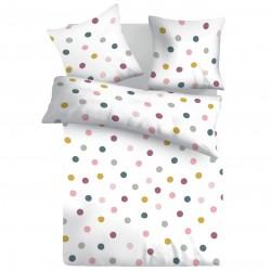 Ким - 100% памук спален комплект (плик и калъфки)
