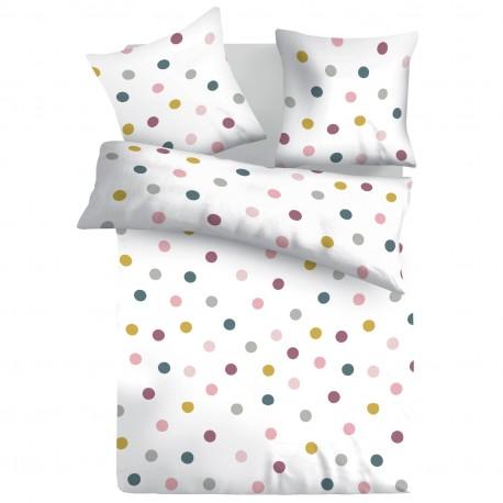 Joy - 100% Cotton Bed Linen Set (Duvet Cover & Pillow Cases)