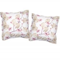 Papillon - Taies d'oreiller ou traversin / 100% Coton
