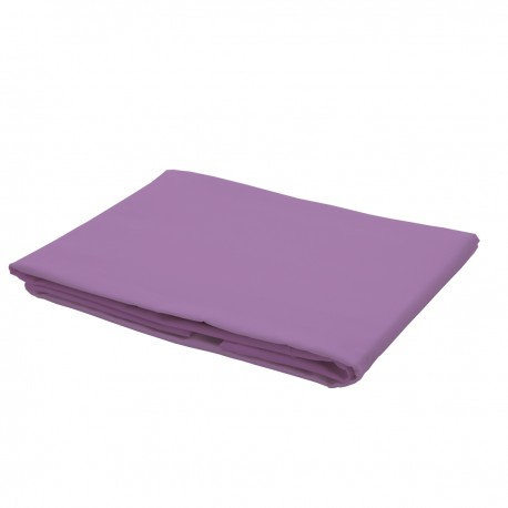 Purple - Flat Sheet / 100% Cotton Bedding