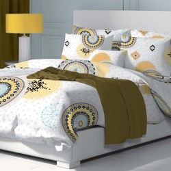 Cosmo - 100% Cotton Bed Linen Set (Duvet Cover & Pillow Cases)