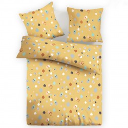 Serena - 100% Cotton Bed Linen Set (Duvet Cover & Pillow Cases)