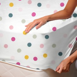 Joy - Fitted Sheet / 100% Cotton Bedding