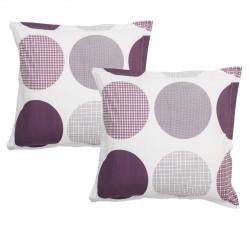 Ava - Taies d'oreiller ou traversin / 100% Coton