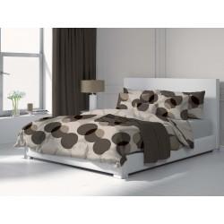 Circles - 100% Cotton Bed Linen Set (Duvet Cover & Pillow Cases)