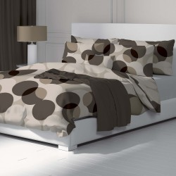 Circles - 100% Cotton Bed Linen Set (Duvet Cover & Pillow Cases)
