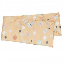 Golden Serena - Cot / Crib Bumper Pad Half Pati'Chou