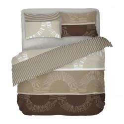 Mochaccino - 100% Cotton Bed Linen Set (Duvet Cover & Pillow Cases)